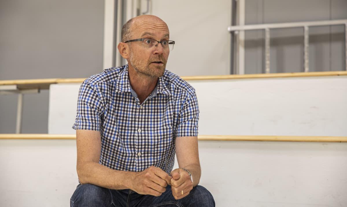 Lappeenrannan kaupungin kahityspäällikkö Markku Mäki-Hokkonen.