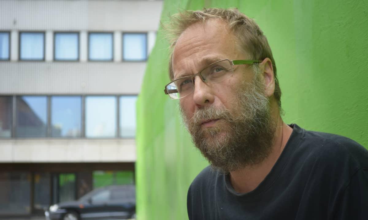 Risto Isomäki Lahdessa.