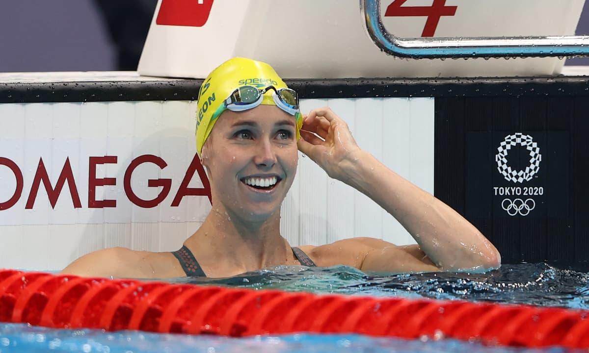 Emma McKeon teki Tokiossa olympiahistoriaa seitsemällä mitalillaan.