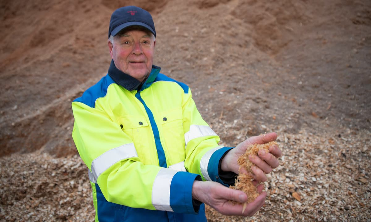 Bioenergo Oy:n hallituksen puheenjohtaja Timo Saini