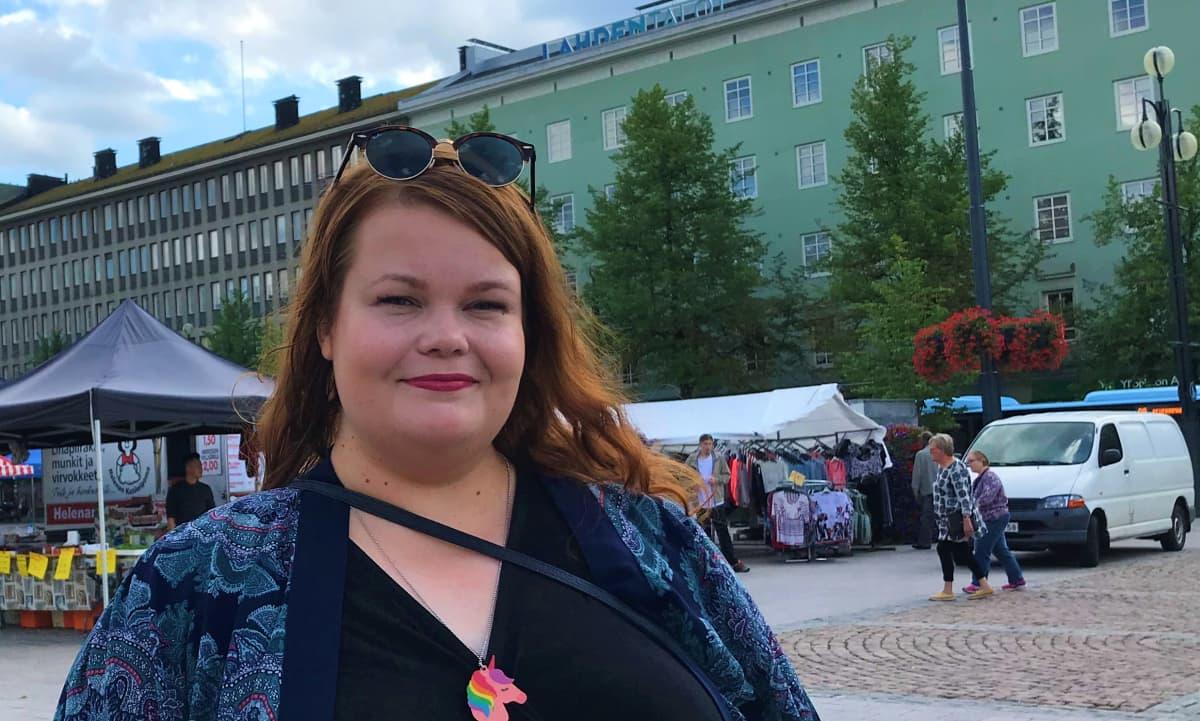 Lahden Seta ry:n sihteeri Pilvi Kuhmonen