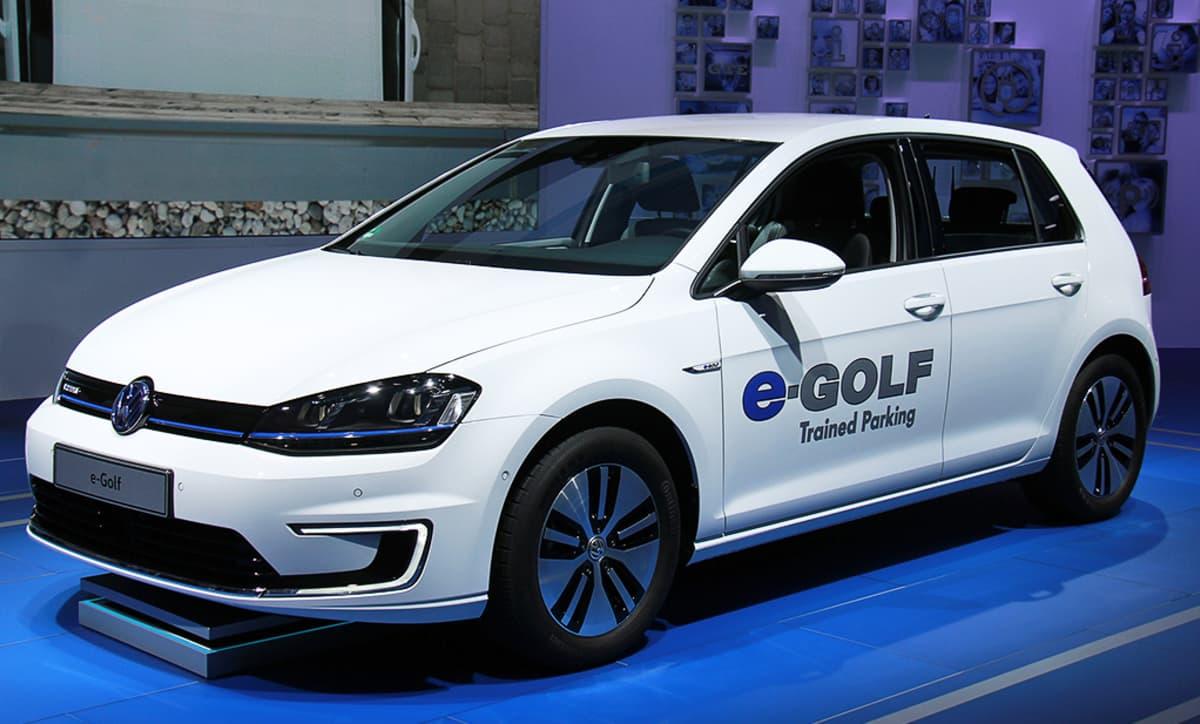 Volkswagen e-Golf -sähköauto