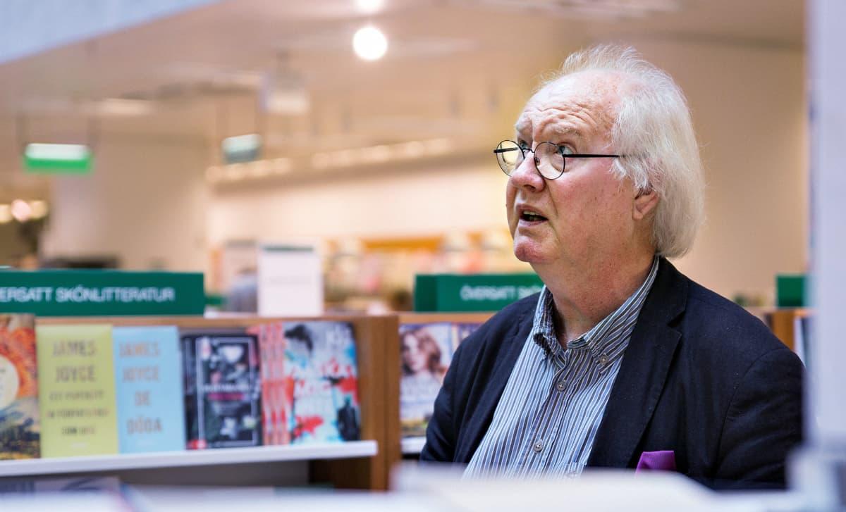 Akateemisen kirjakaupan entinen johtaja Stig-Björn Nyberg