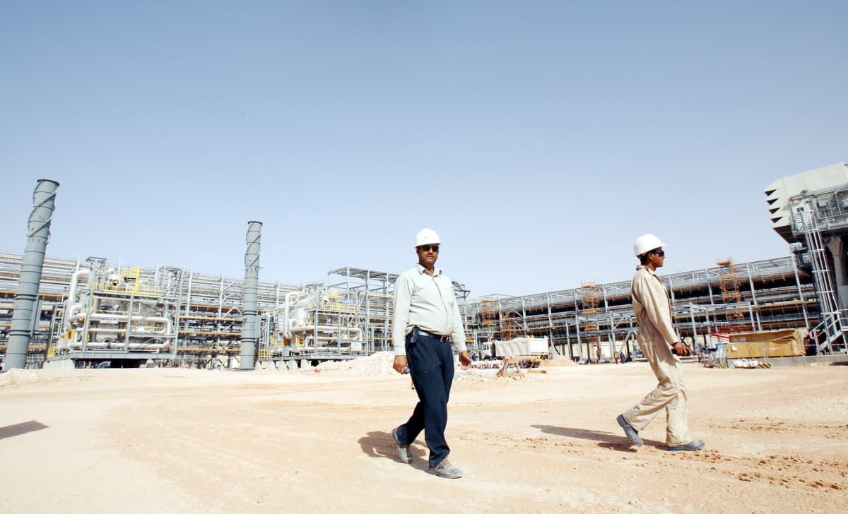 Khuraisin öljykenttä Riadissa Saudi-Arabiassa.