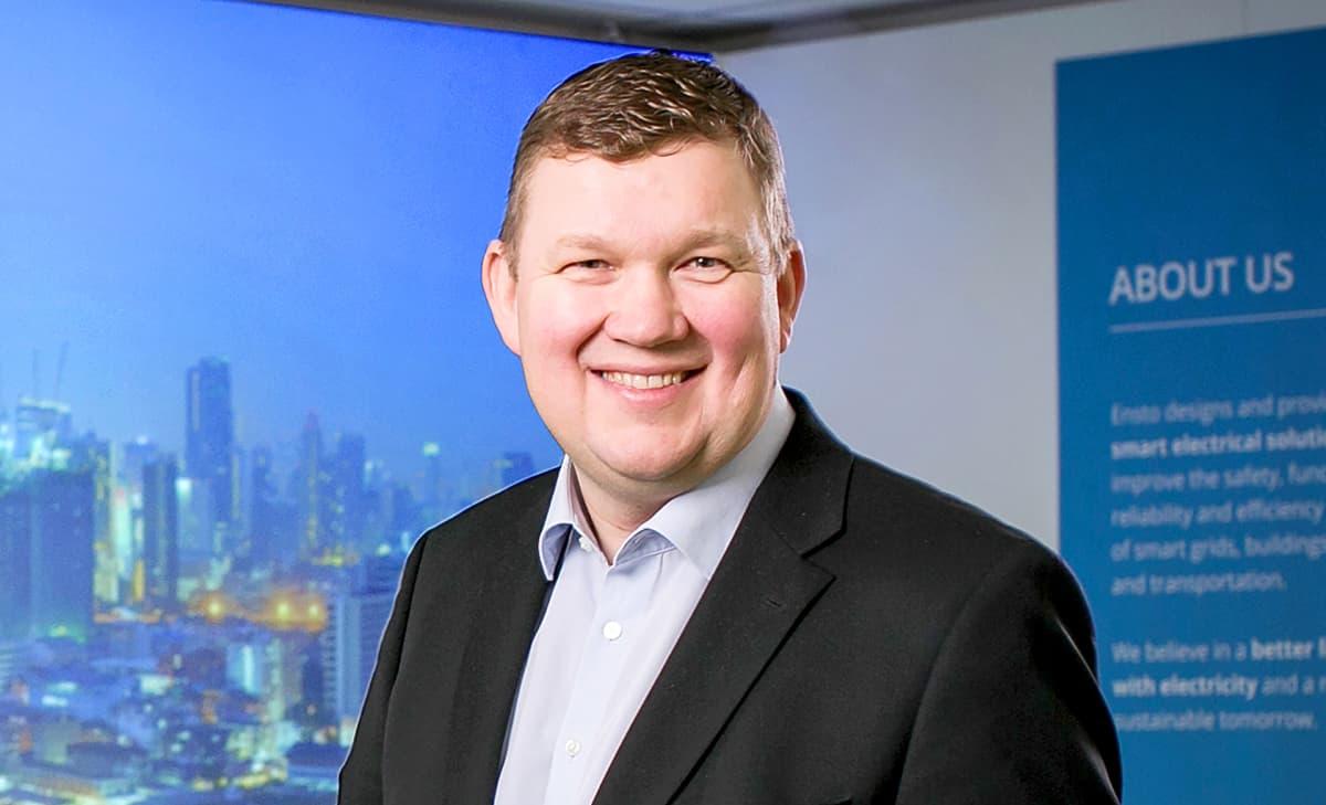 Hannu Keinänen, konsernijohtaja, Ensto
