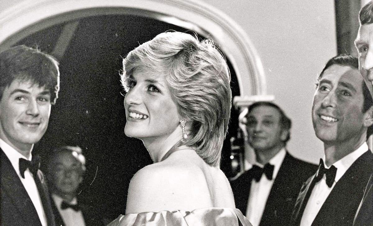 Diana hyvätekeväisyystapahtumassa Lontoossa lokakuussa 1983.