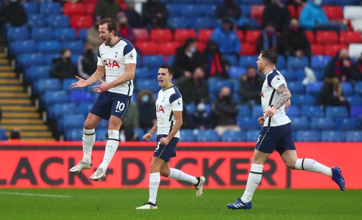 Harry Kane ja kumppanit Tottenham