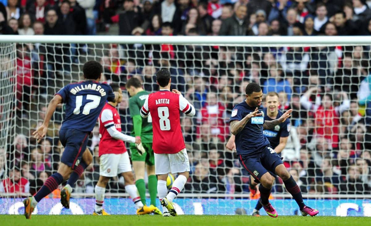 Colin Kazim-Richards viimeisteli Blackburnin 1-0-voittomaalin 72. minuutilla.