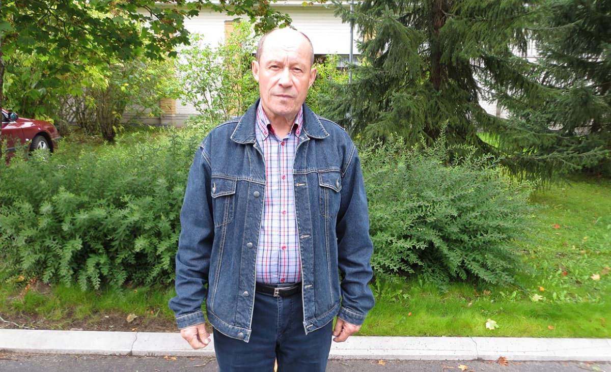 Suomen Metsästäjäliiton Etelä-Hämeen puheenjohtaja Jorma Hacklin