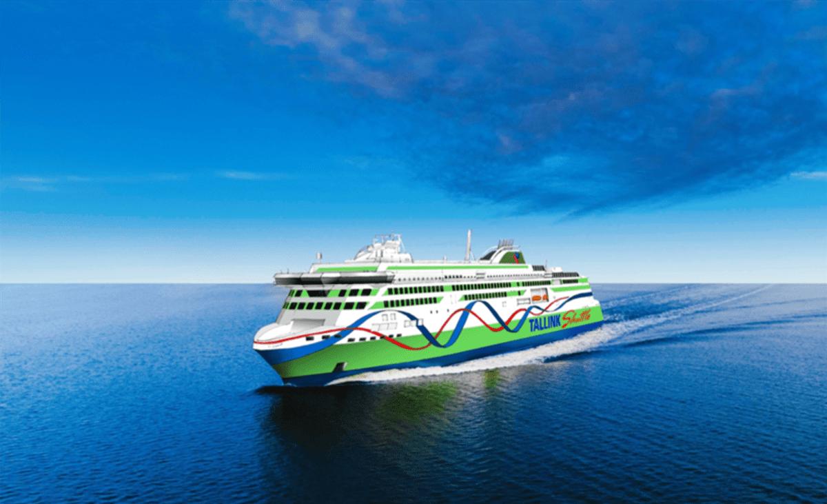 Tallink RMC-telakka Rauma havainnekuva Tallink-aluksesta