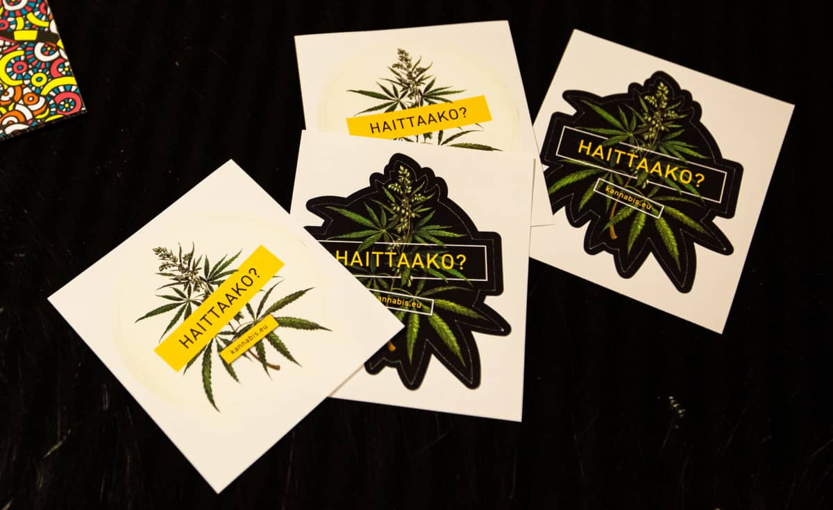 Kannabis-tarroja Oriveden opistolla.