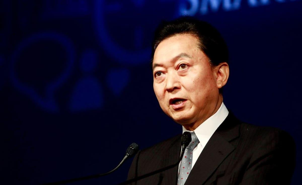 Japanin entinen pääministeri Yukio Hatoyama valokuvattuna Soulissa, Etelä-Koreassa, vuonna 2011.