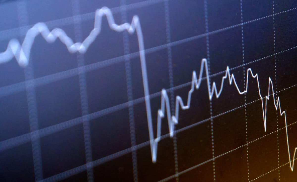 Alaspäin menevä pörssikurssi