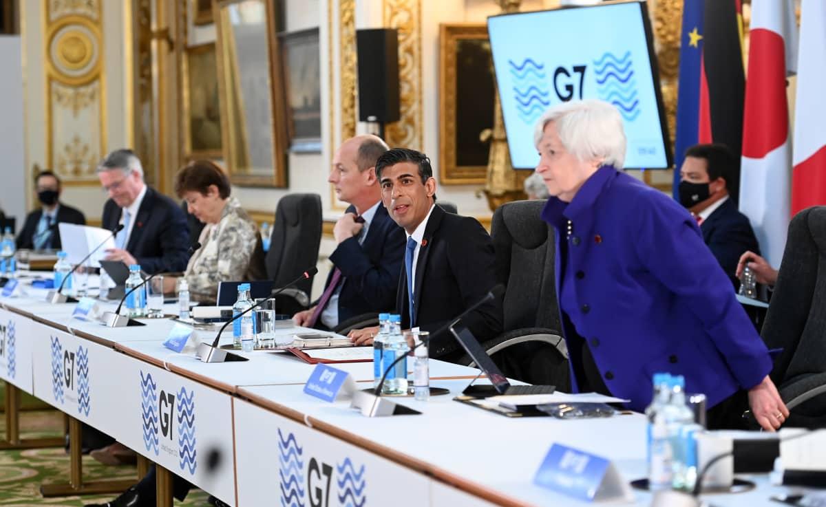 G7-kokous Lontoossa 4. kesäkuuta