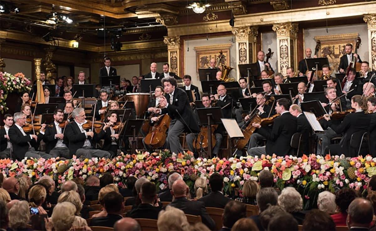Wienin filharmonikkojen konsertti