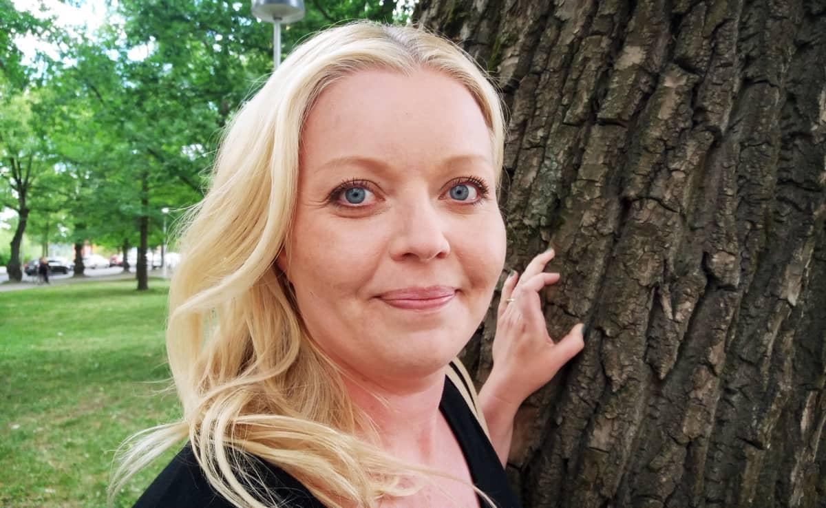 Heinolan kaupunginhallituksen 2. varapuheenjohtaja Sanna Karppinen.