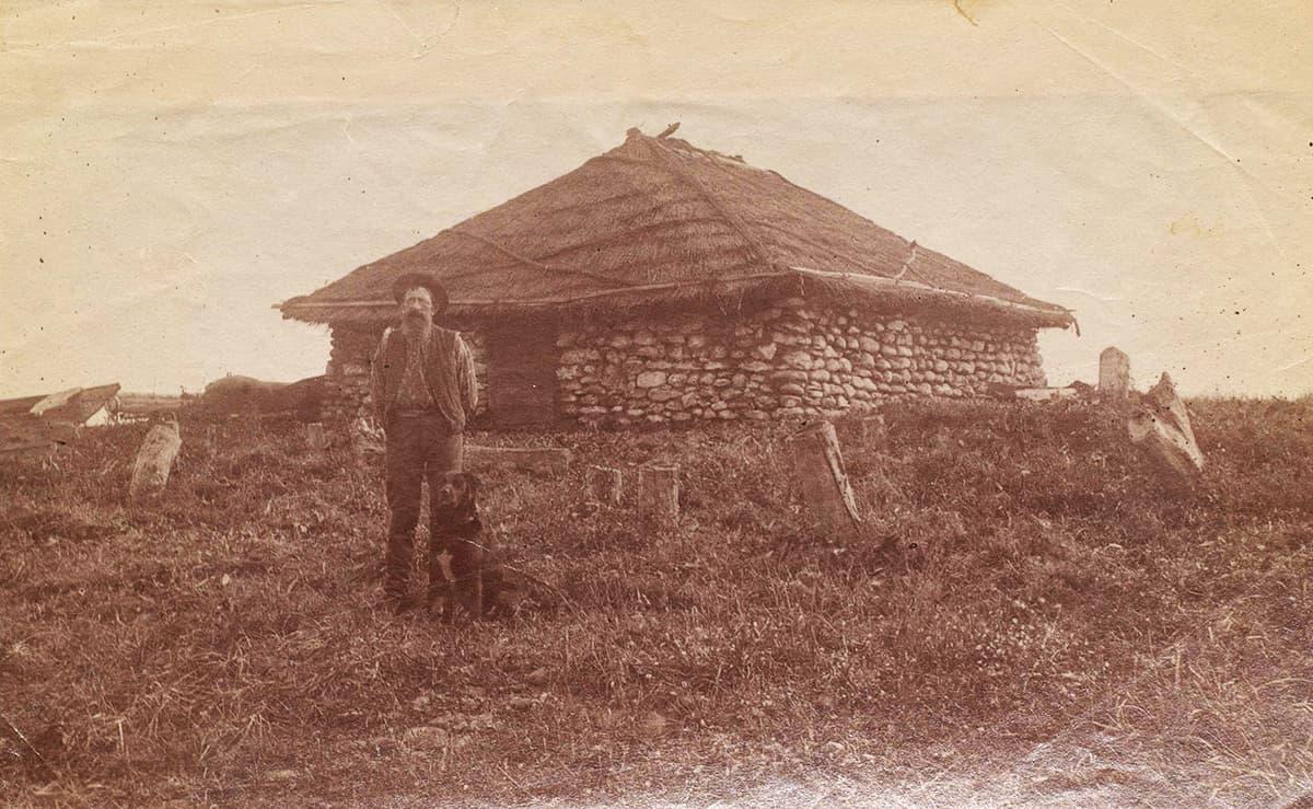 Valokuva Brobergien kotialbumista