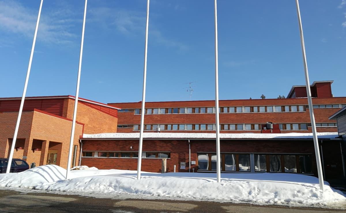 Ounasvaaran lukio Lapin koulutuskeskus REDU Ounasvaaran kampus