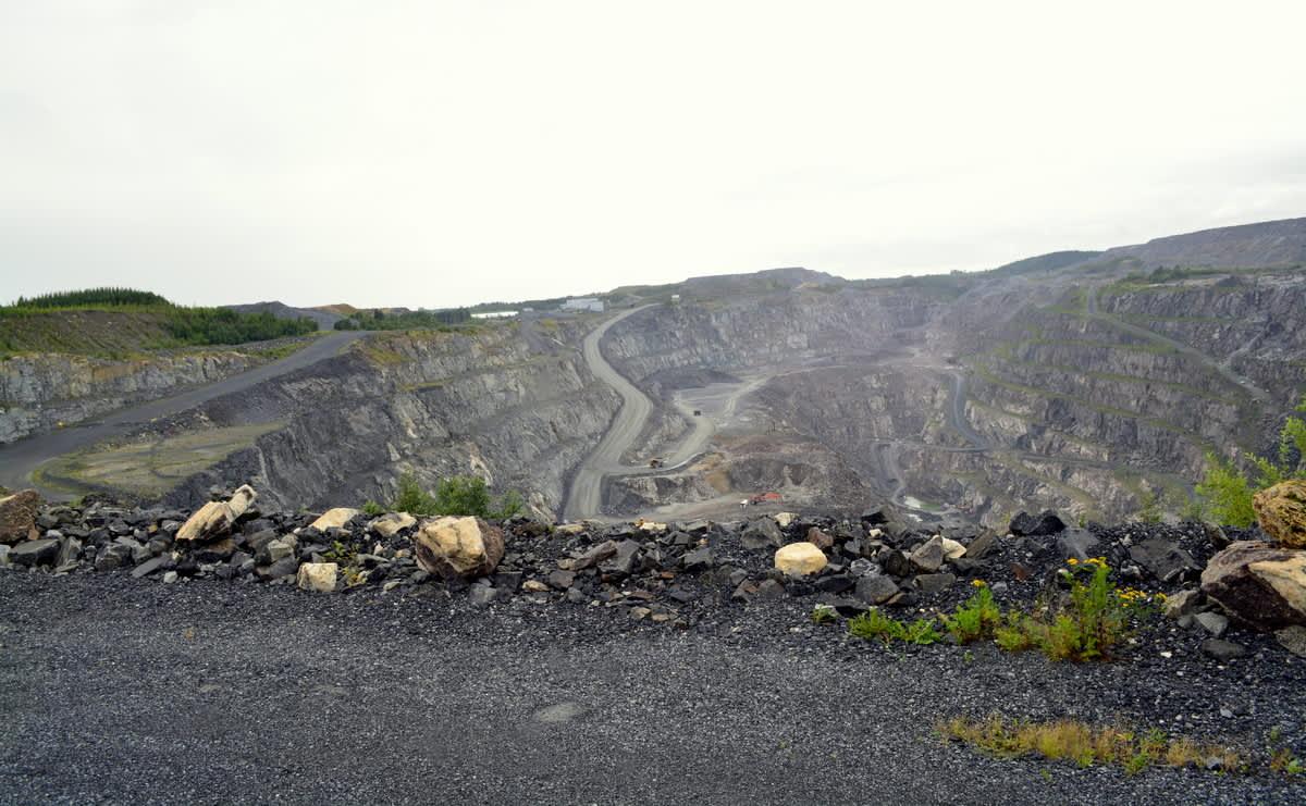 Särkijärven avolouhos lannoitevalmistaja Yaran kaivoksella Siilinjärvellä