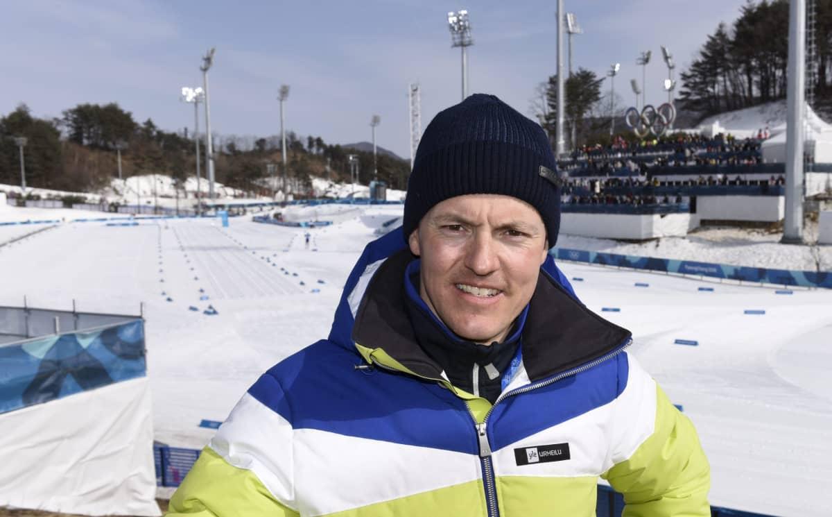 Viime kauteen aktiiviuransa päättänyt Sami Jauhojärvi toimii Pyeongchangin olympialaisissa Yle Urheilun asiantuntijana.