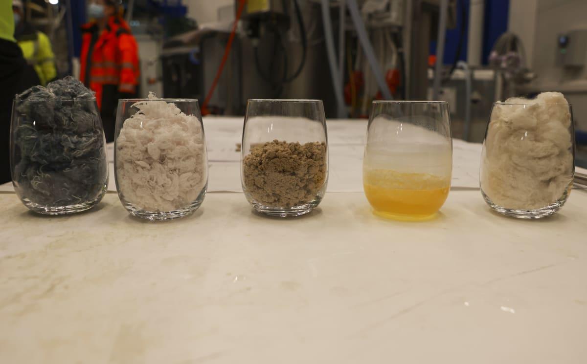 Tekstiilien kemiallinen kierrätys  Vtt bioruukki