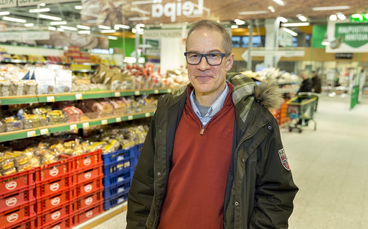 Ravitsemustieteen professori Mikael Fogelholm.