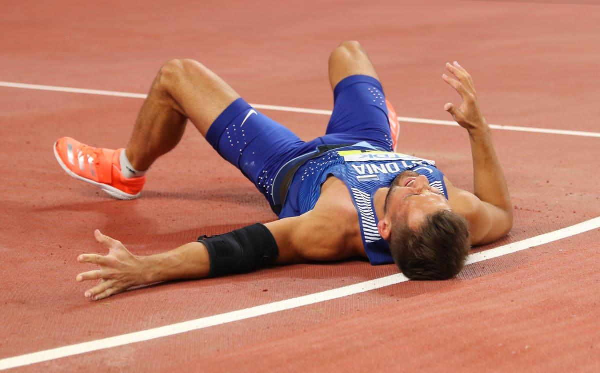 Magnus Kirtin ilme ei jättänyt mitään epäselväksi, kun viides heitto oli epäonnistunut kohtalokkaasti.