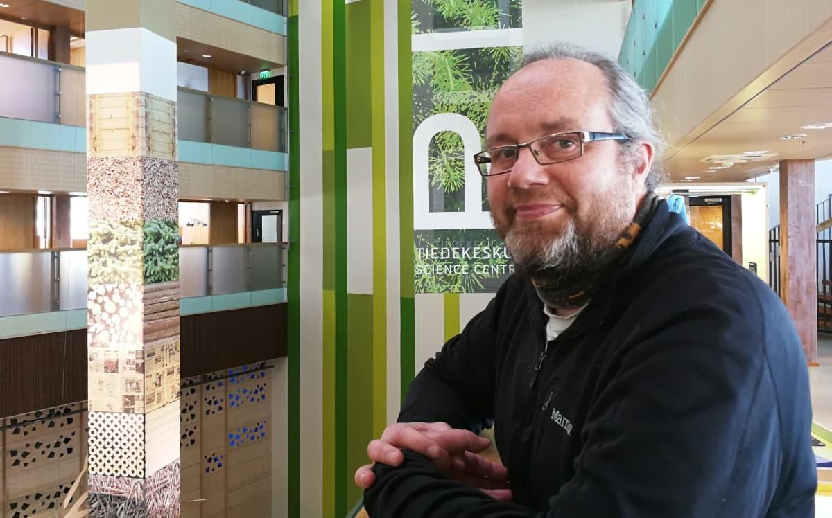 Paavo Hellstedt, Metsähallituksen MOKEMA-projektin vetäjä