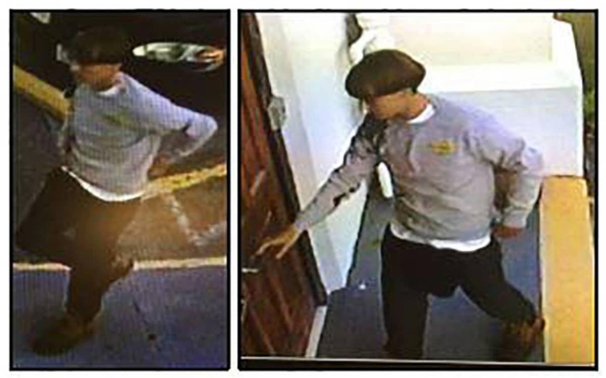 Charlestonin poliisilaitos julkaisi 18. kesäkuuta valvontakameran kuvia epäillystä ampujasta.