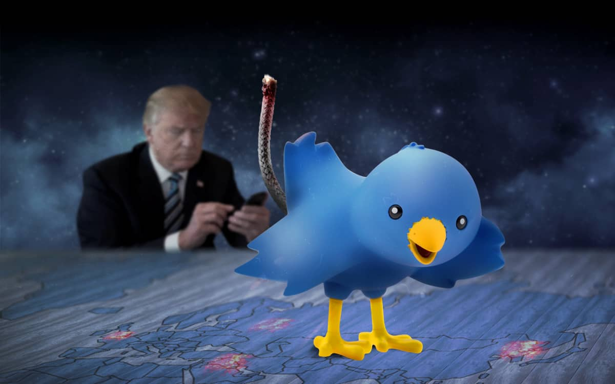 Trump Twitter lahtokuva