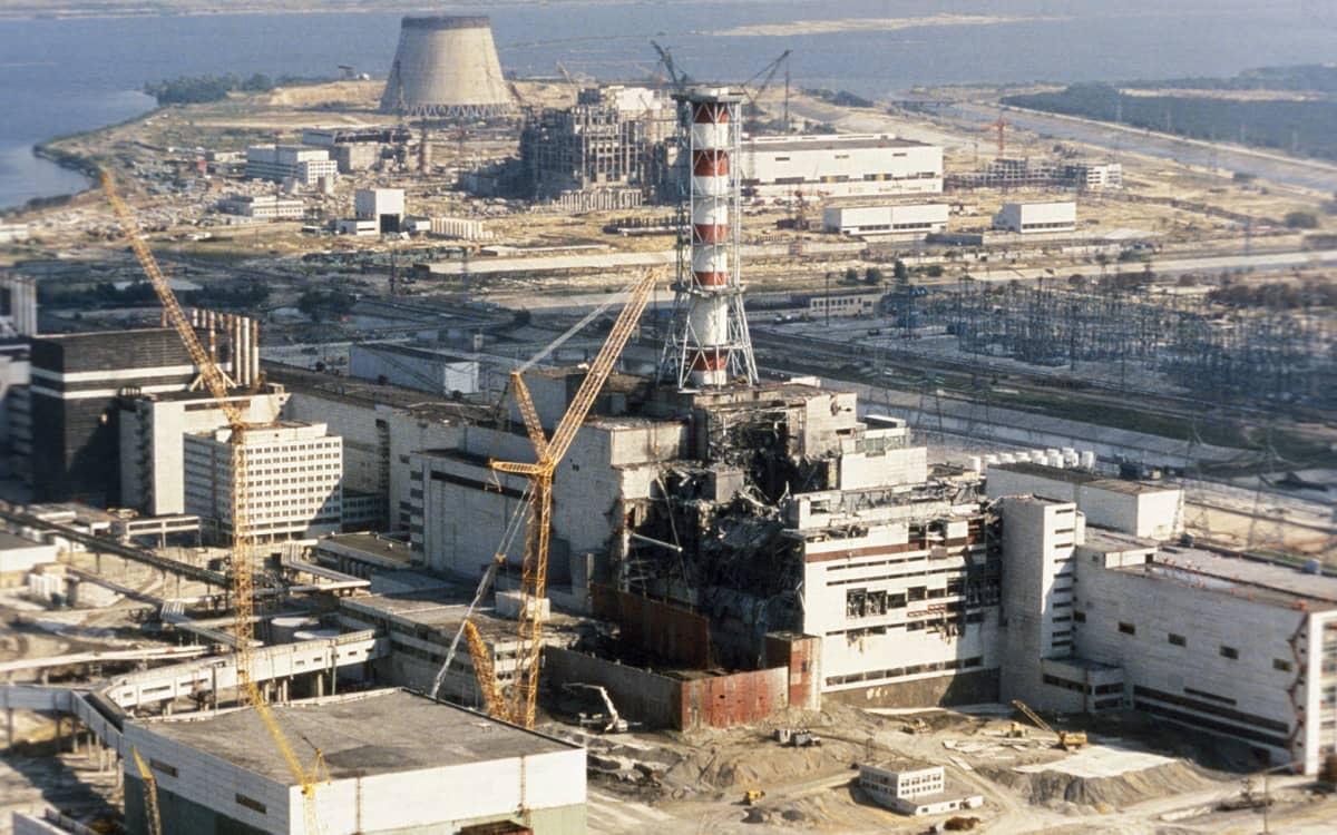 Tšernobyl vuonna 1986