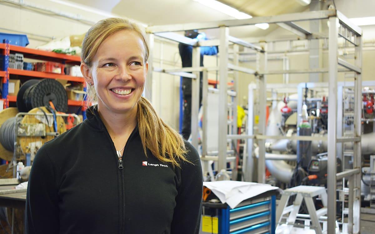 Langh-konsernin  toimitusjohtajan Laura Langh-Lagerlöfin mukaan rikkipesuriasiakkaita tulee ympäri maailmaa.