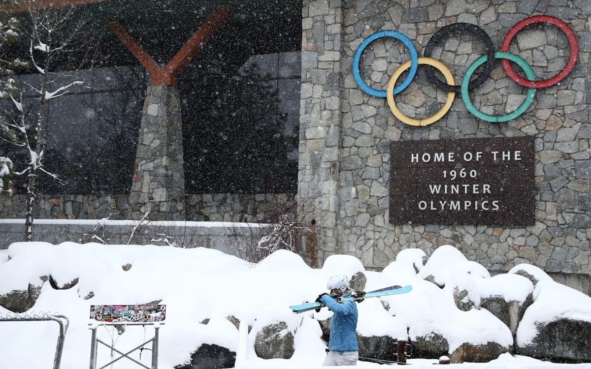 Squaw Valley isännöi talviolympialaisia 1960.
