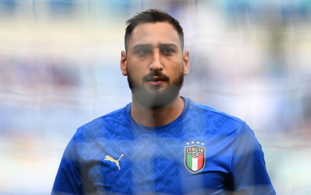 Italian Gianluigi Donnarumma EM-kisoissa.