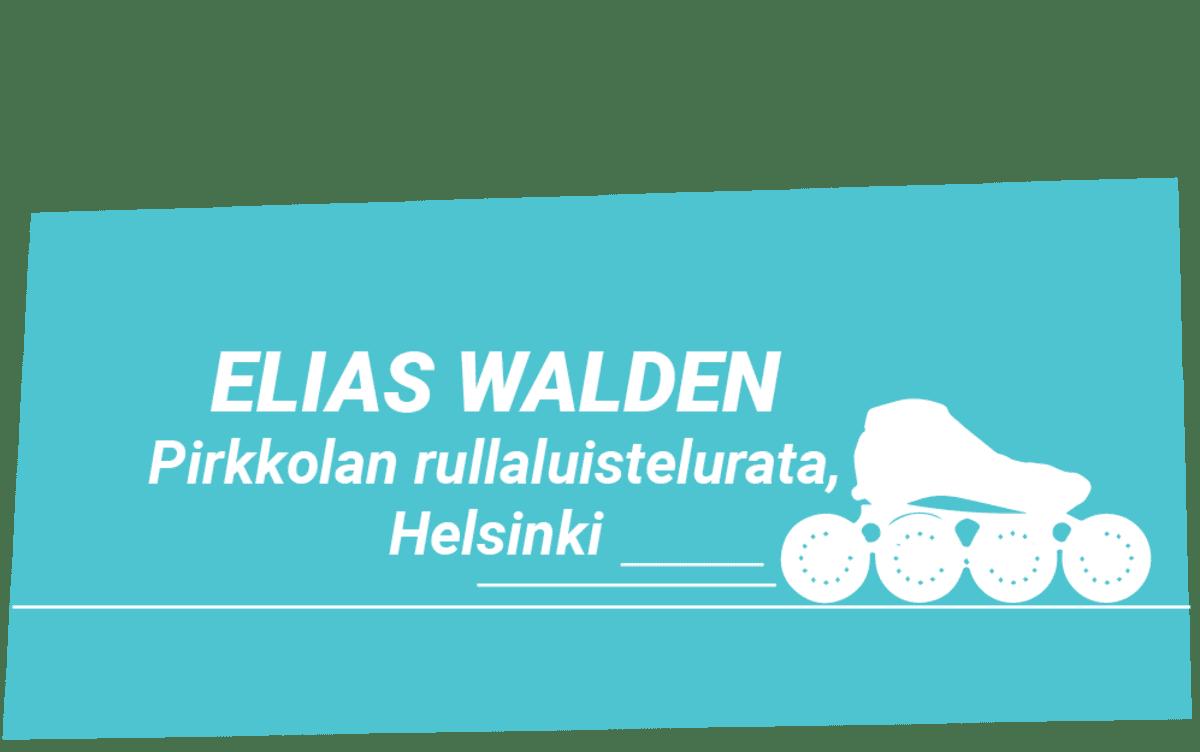 Elias Walden, vinjettigrafiikka