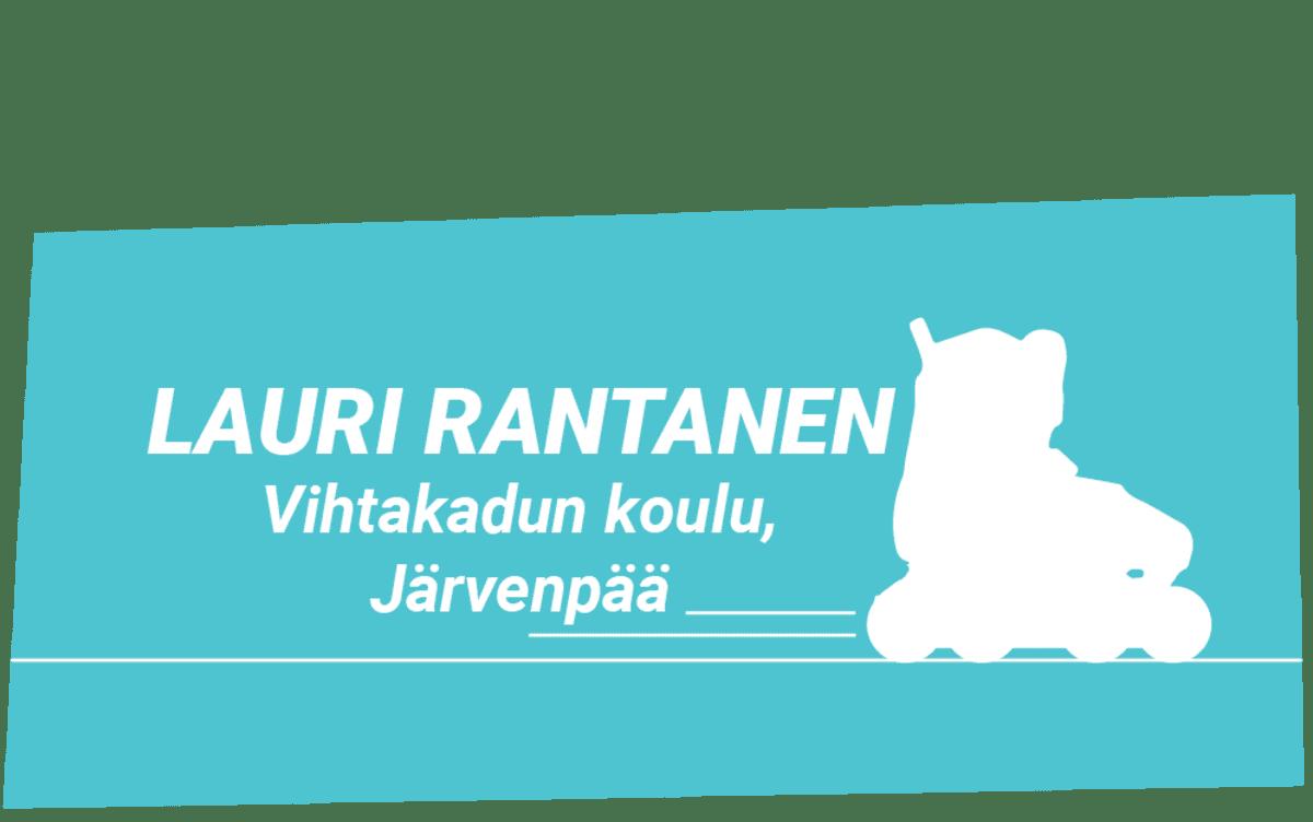 Lauri Rantanen, vinjettigrafiikka