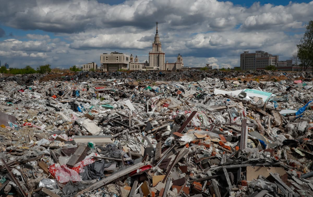Kaatopaikka Moskovassa.