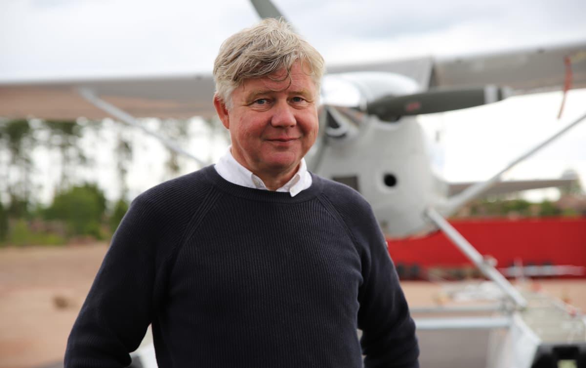 Pyhtää Redstone Aero Oy hallituksen puheenjohtaja Esa Korjula.