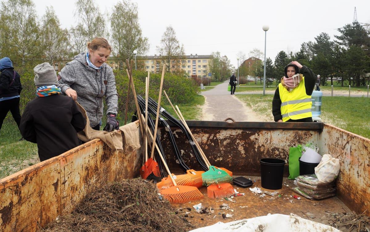 Itämeren siivoustalkoot toteutettiin kokonaan vapaaehtoisten voimin.