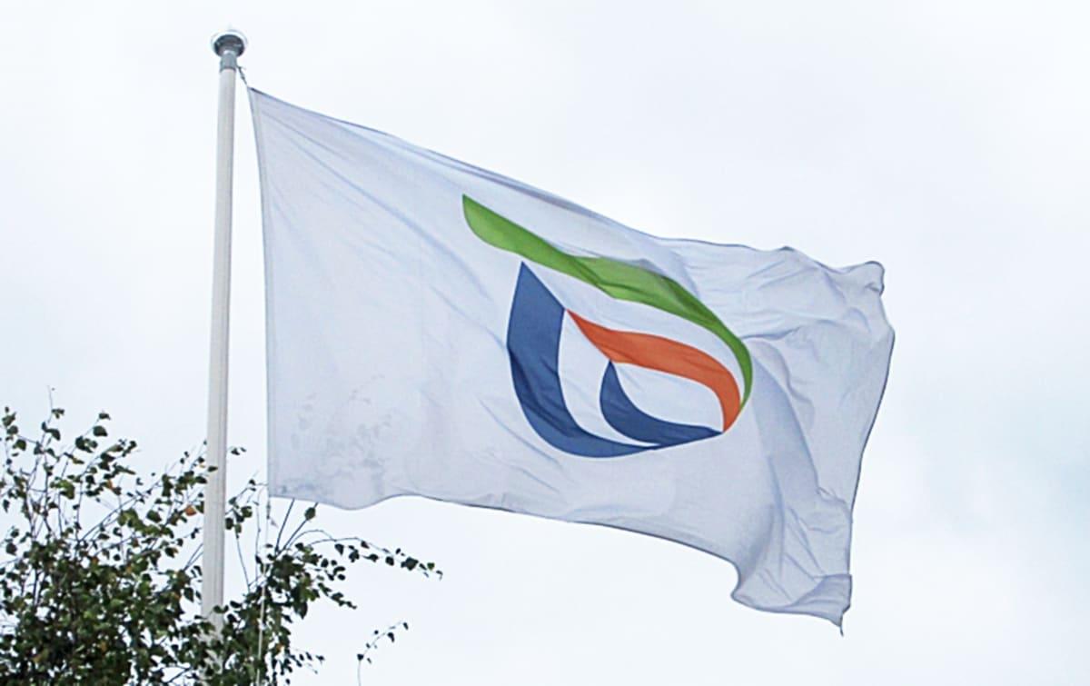 Ely-keskuksen lippu.