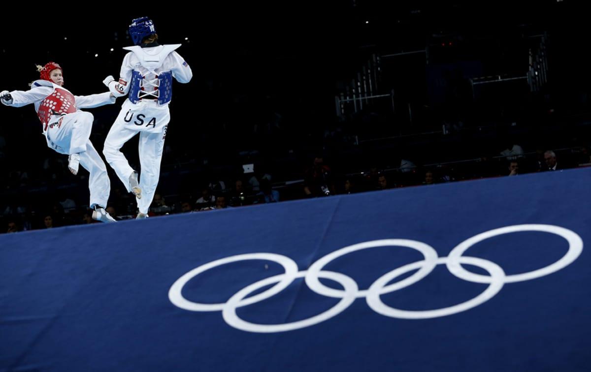 Suvi Mikkonen Lontoon olympiakisoissa 2012.