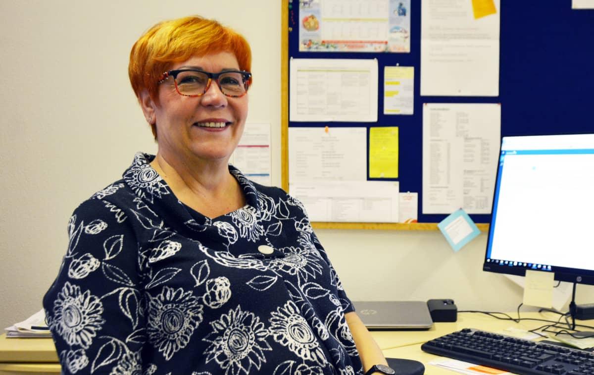 Vaasan kaupungin työllistämispäällikkö Helena Nurmikoski