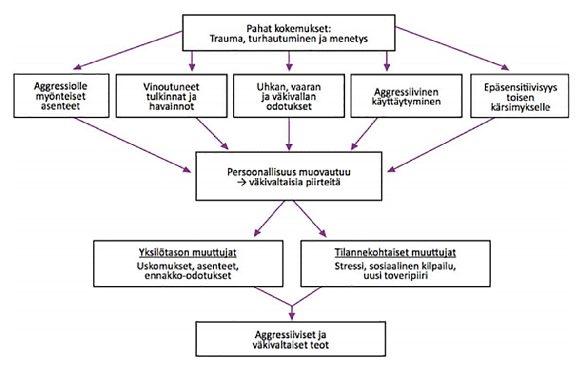 Kuvakaappaus Henri Rikanderin luentomateriaalista.
