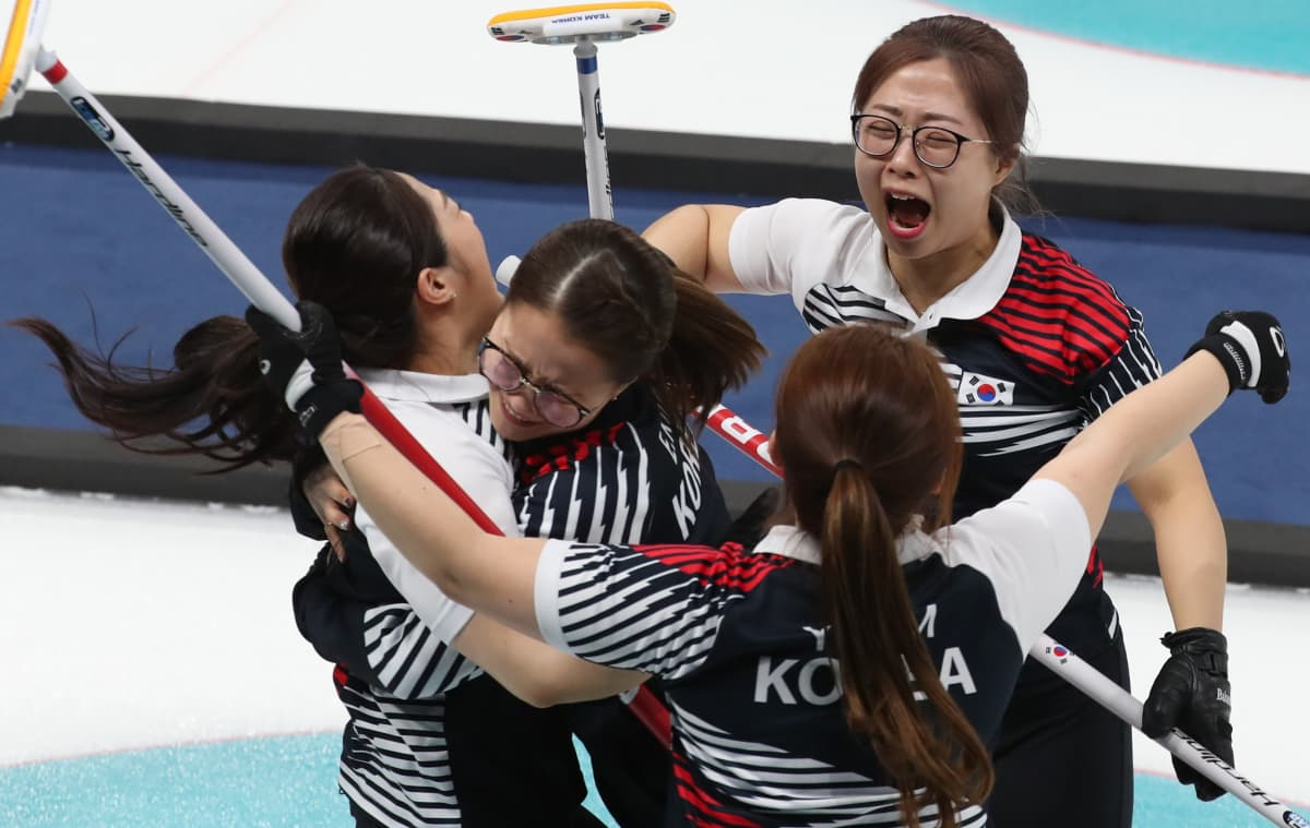 Etelä-Korean curling-joukkue
