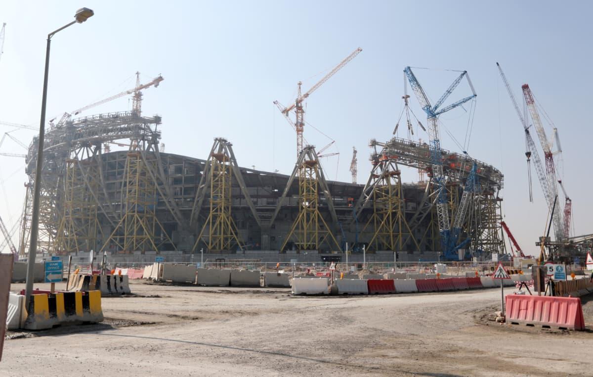 Lusail Stadium jalkapallo fifa 2022