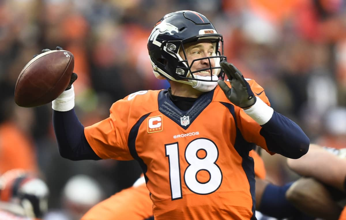 Denver Broncosin pelinrakentaja Peyton Manning