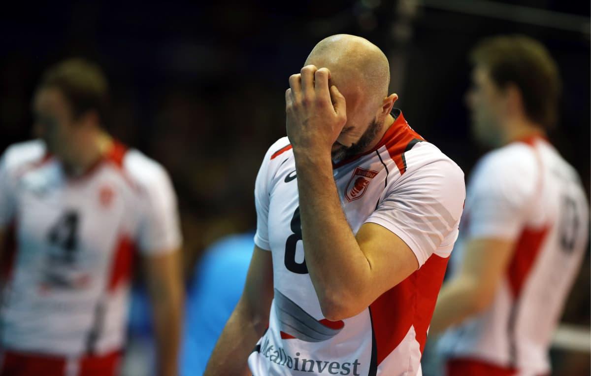 Sergei Tetjuhinia pidetään jopa Venäjän kaikkien aikojen lentopalloilijana.