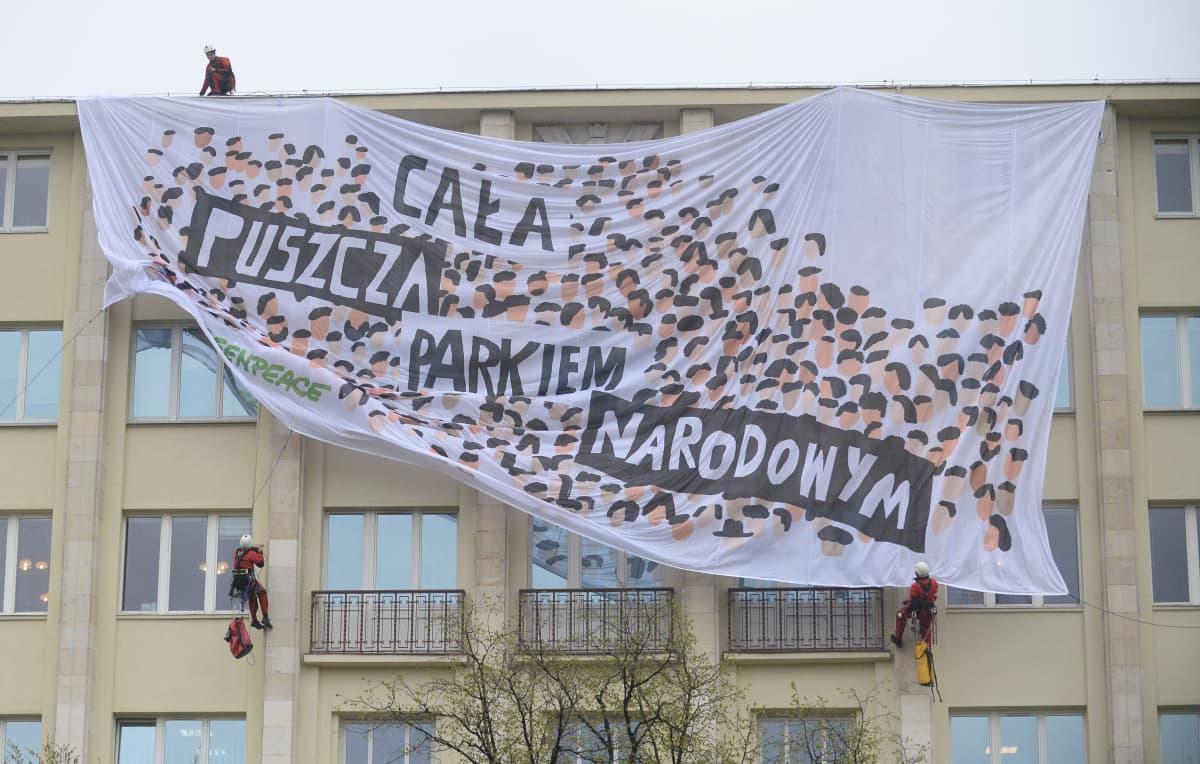 Greenpeacen mielenosoitus