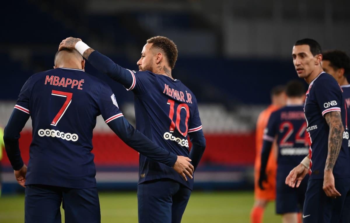 Kylian Mbappe, Neymar Jr. ja Angel Di Maria ovat Messin uusia pelikavereita