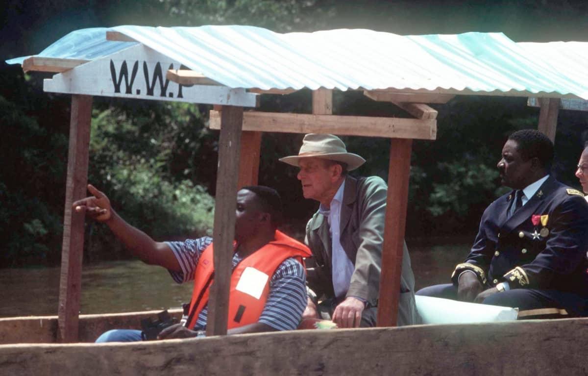 prinssi Philip veneessä